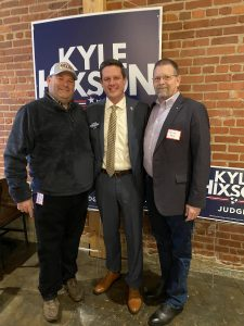 Myself, Judge Hixson and Randy Pace currently Knox County Republicans