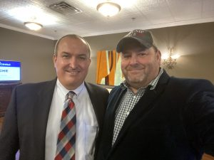 Loudon County Trustee Chip Miller and me