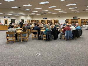 Big Crowd at the Karns Republican Club