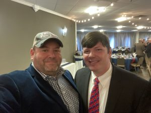myself and Republican Knox County Commission Fifth District candidate Clayton Wood