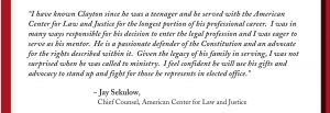 Jay Sekulow endorsement of Clayton Wood, Knox County Commission Fifth District