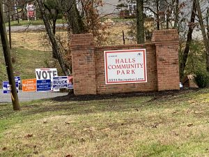 Halls Early Voting Site