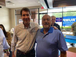 Bill Hagerty and Lenoir City Councilman James Brandon