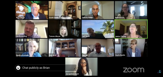 MPC Commissioners on ZOOM 6/11/2020