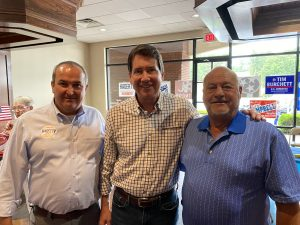 Loudon County Trustee Chip Miller, Bill Hagerty and Lenoir City Councilman James Brandon