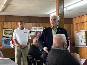 Senator Yager and Rep. Calfee at the Roane County Republican Party Meeting