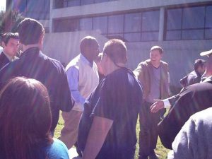 Herman Cain at Roane State Community College in Harriman, TN in 2012