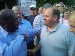 Herman Cain and I in 2012