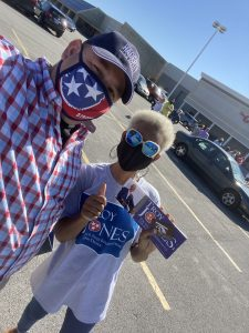 a volunteer for Independent Political Candidate Troy B. Jones. Running for TN State House District 15.