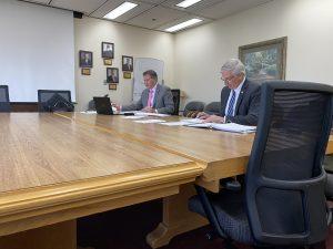Chairman Larsen Jay and Vice Chairman John Schoonmaker