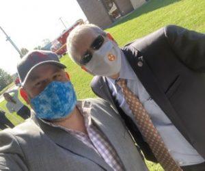 myself with Patrick Jaynes, TN State Director of United States Senator Lamar Alexander's office