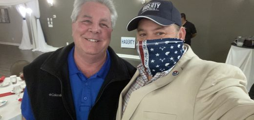 Jimmy JJ Jones and I at an event for Senator Bill Hagerty