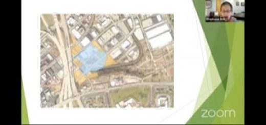 The brown property is all owned by Boyd, the blue is the proposed stadium footprint