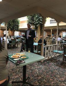 Knox County Republican Party Secretary Gary Loe