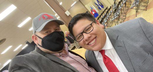 Chairman Herrera and I