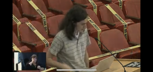 Carter High School teacher speaking at the Knox County School Board 6/9/2021 Meeting advocating for a facilitator