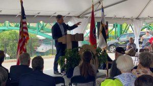 TN Governor Bill Lee delivering his remarks