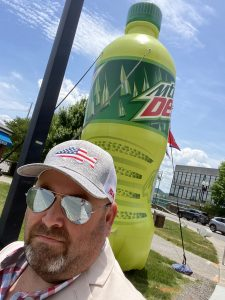 Mountain Dew created in Tennessee and me