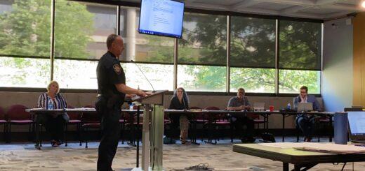 Bernie Lyon speaking on behalf of Knox Sheriff's Office on July 15, 2021