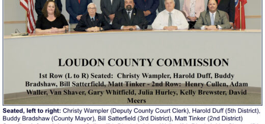 the official photo from the Loudon County, TN webpage of the Commission