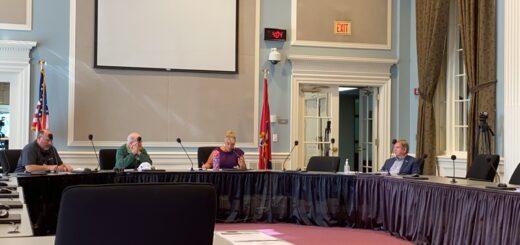 Council Members JIM Wright, Jr., JIM Jennings, Chair Gina Oster and Alternate Member John Marshall
